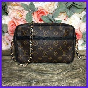 Authentic Louis Vuitton Compiegne Clutch 23